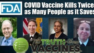 FDA Reveals COVID-19 Vaccines Kill 2x More People Than They Save