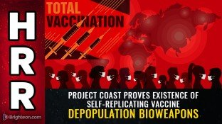 BOMBSHELL: Gates Foundation, DARPA funding self-replicating, weaponized vaccine technology that began under Apartheid, to exterminate Blacks… and now it's powering the COVID vax