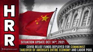EXCLUSIVE: COVID relief funds distributed to cities and states require full compliance with Biden vax mandates; counties can use money to bankrupt and REPLACE local businesses