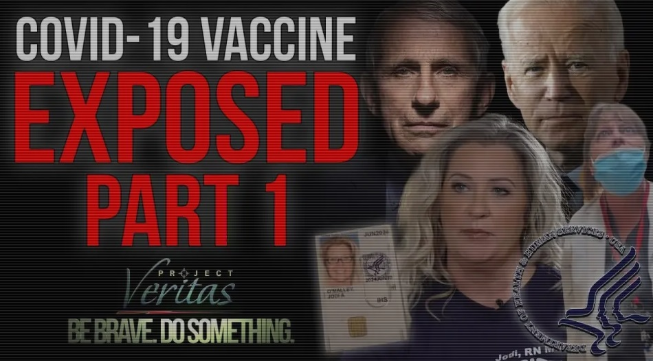 Federal Govt Whistleblower Goes Public with Secret Recordings on COVID Vaxx