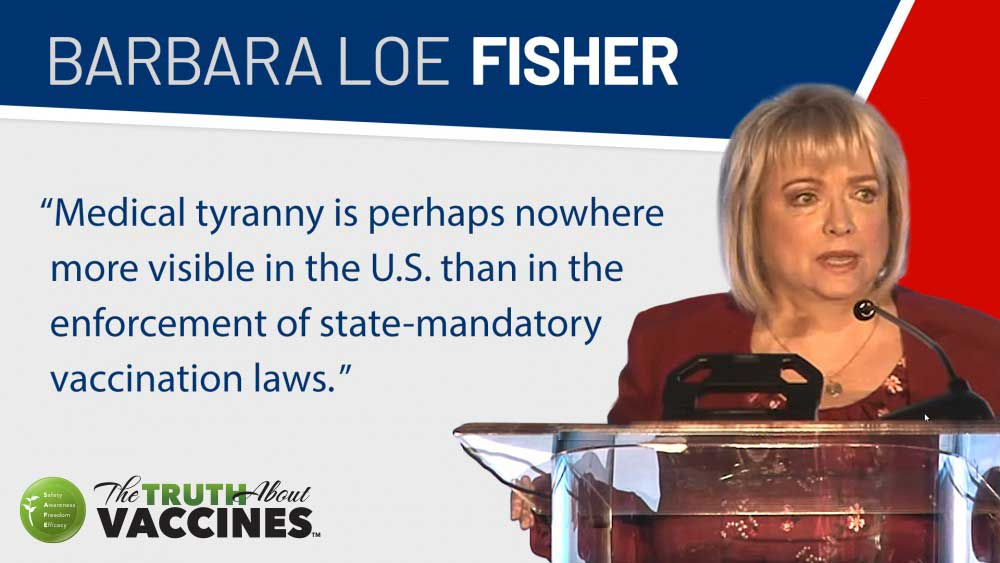 Barbara Loe Fisher Vaccines and Medical Tyranny