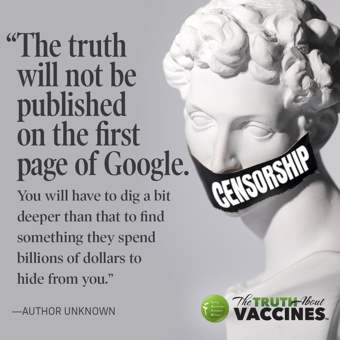 vaccine safety censorship