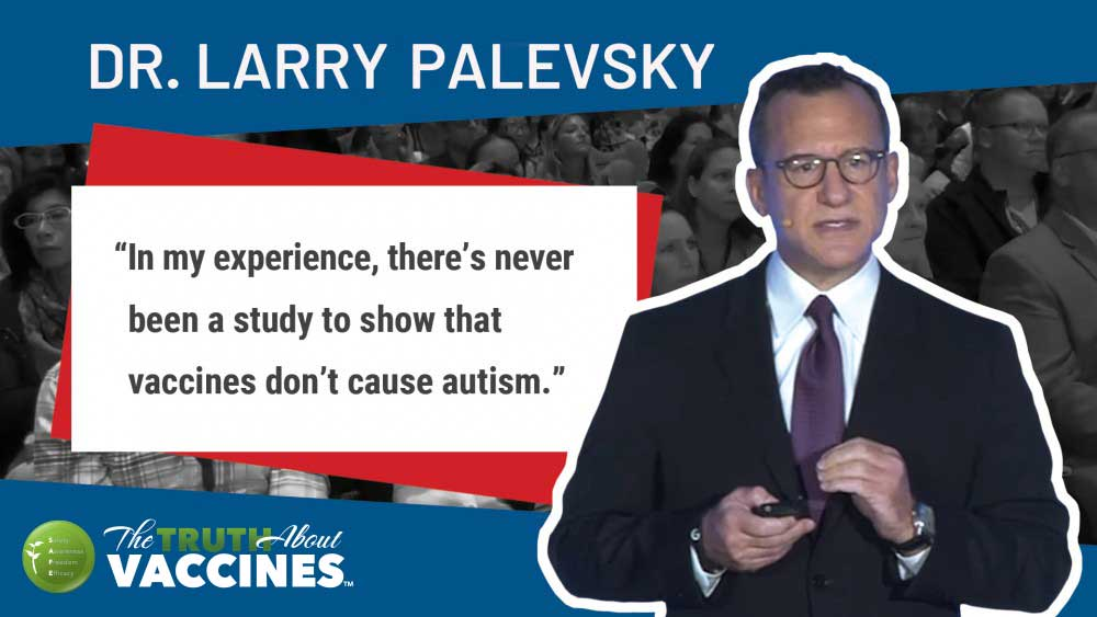 Larry Palevski on Vaccine Damage