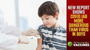 New Report Shows COVID Jab More Dangerous Than Virus in Boys