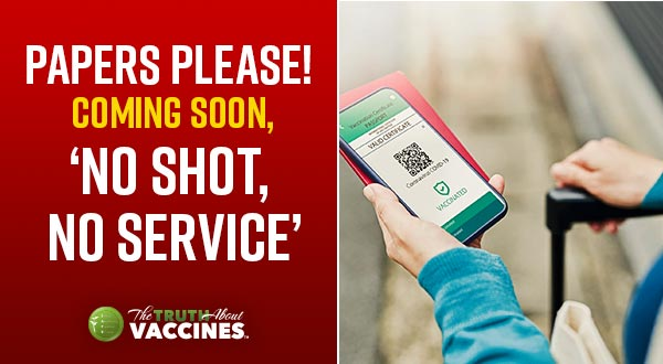 Papers Please! Coming Soon, 'No Shot, No Service'